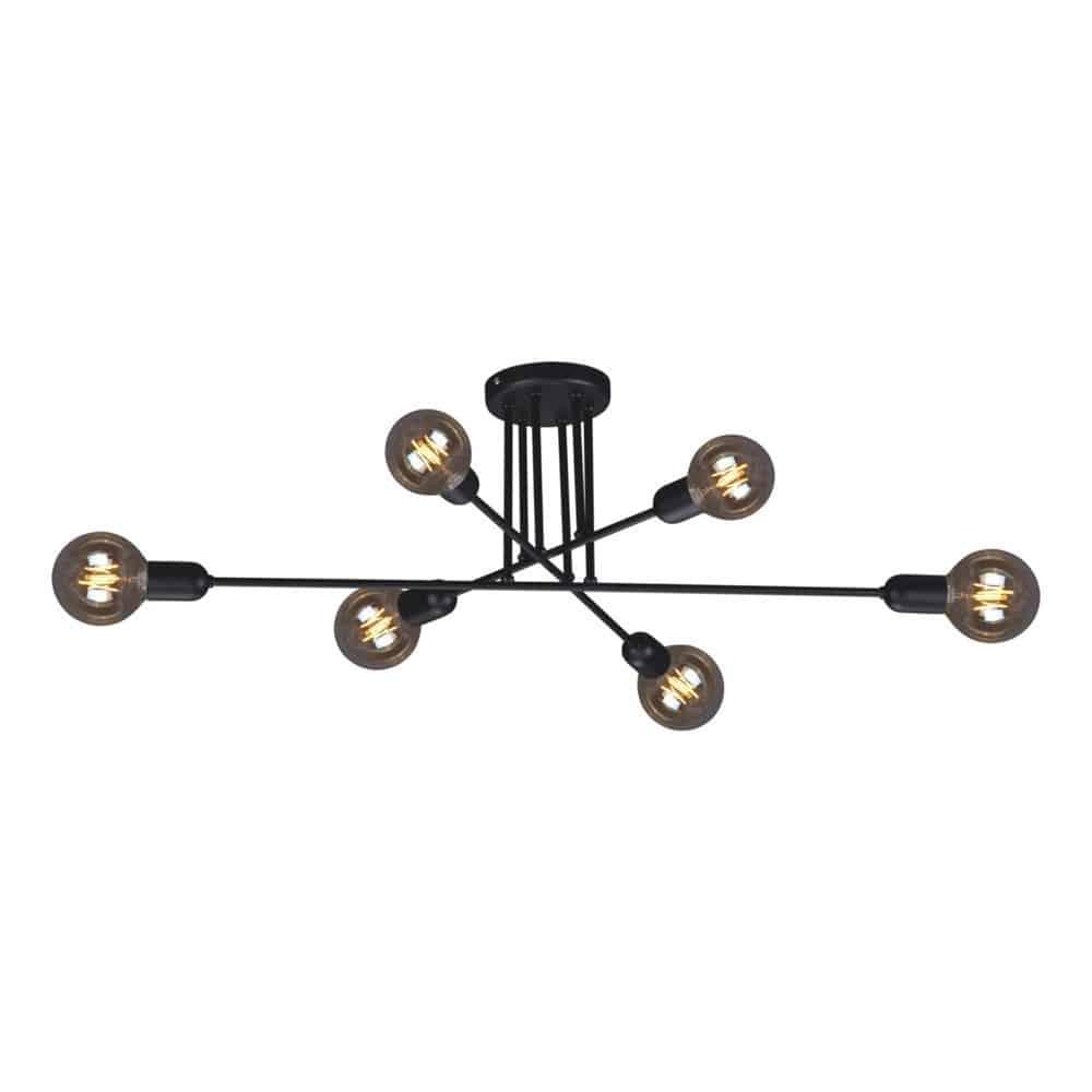 Lampa sufitowa K 4383 z serii SITYA BLACK KAJA
