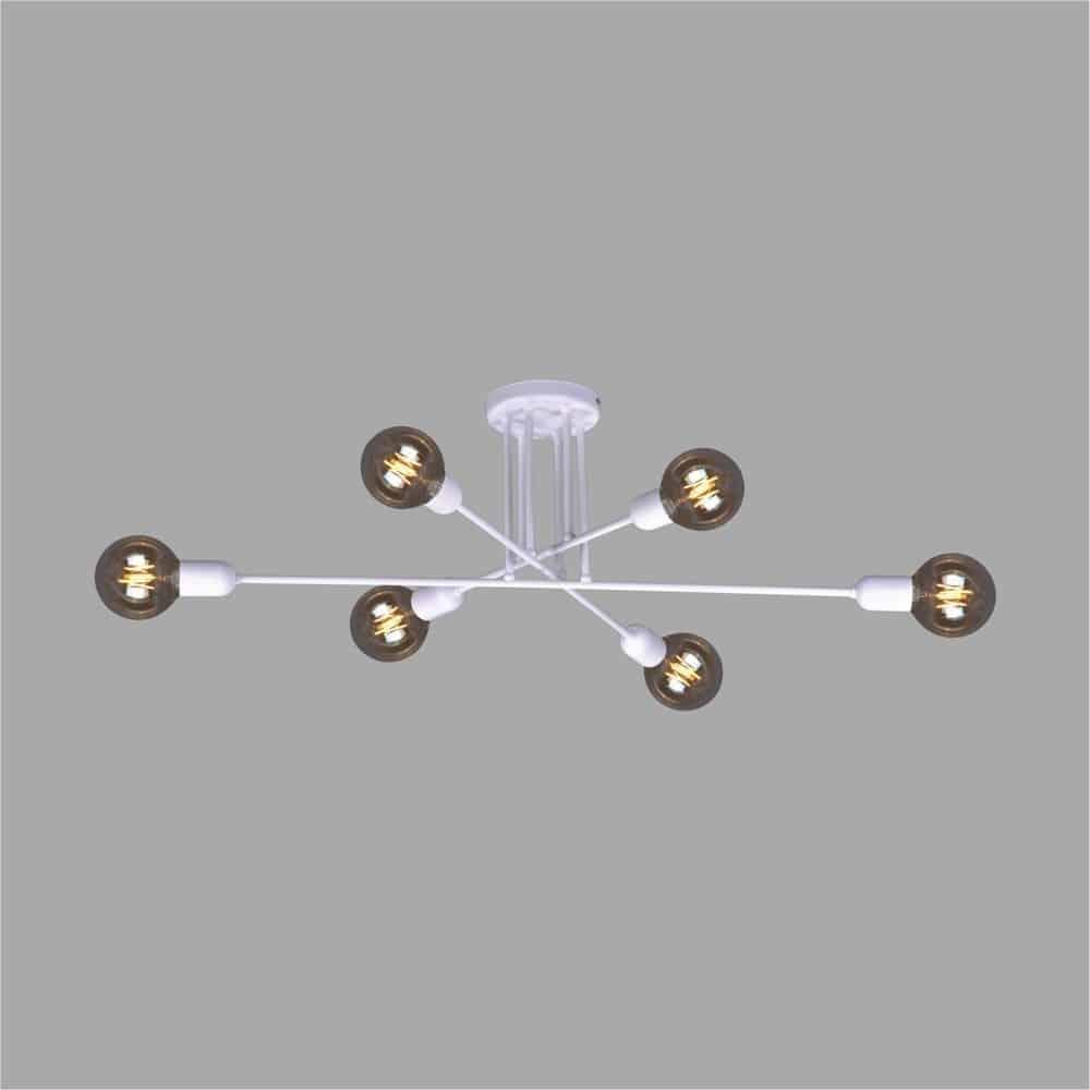 Lampa sufitowa K 4393 z serii SITYA WHITE KAJA