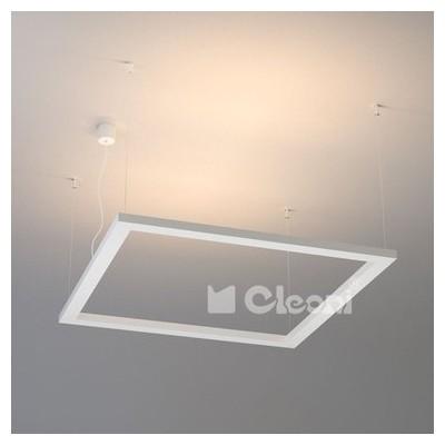 ARA KA1 KWADRAT 400x400 wisząca LED 18W1746lm4000K, 230V, color1* CLEONI